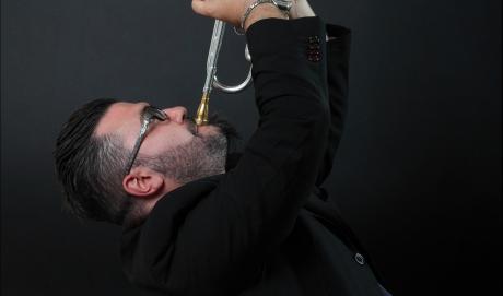 Giacomo Tantillo presenta Water Trumpet alla Casa del Jazz