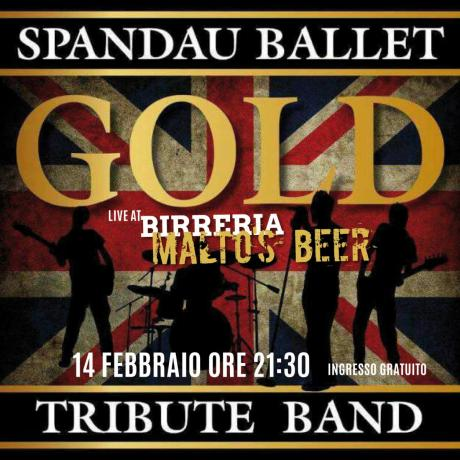 Gold, Spandau Ballet Tribute Band in concerto