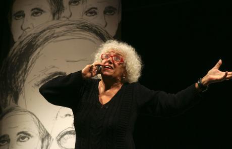 Grande successo per Grazia Scuccimarra al Teatro degli Audaci