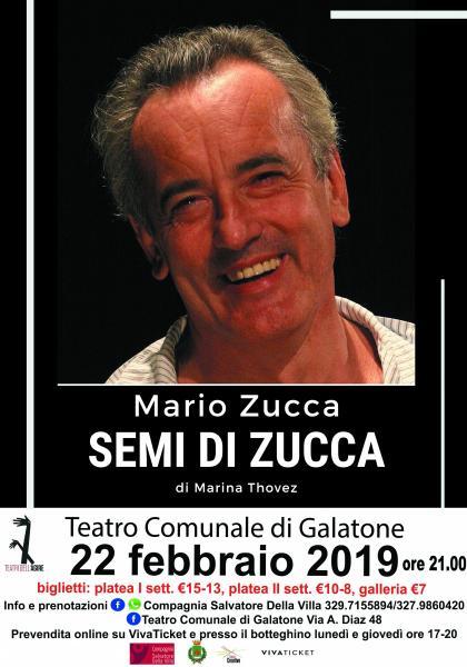 Semi di Zucca con Mario Zucca
