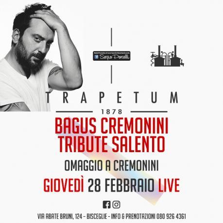 Bagus Cremonini Tribute Salento a Bisceglie