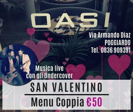 San Valentino @Oasi Poggiardo con gli Undercover