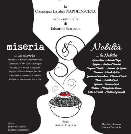 Miseria e Nobiltà, di E. Scarpetta, Compagnia Instabile Napolinscena