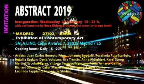 Abstrsct Madrid art Fair Arco performance the art of the future