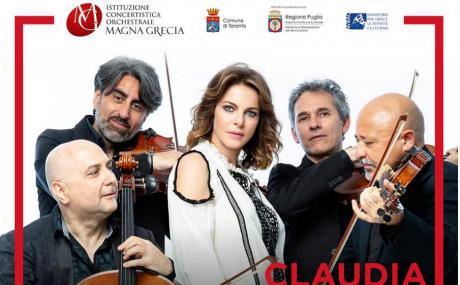 """Claudia Gerini a Taranto con """"Qualche estate fa"""""""