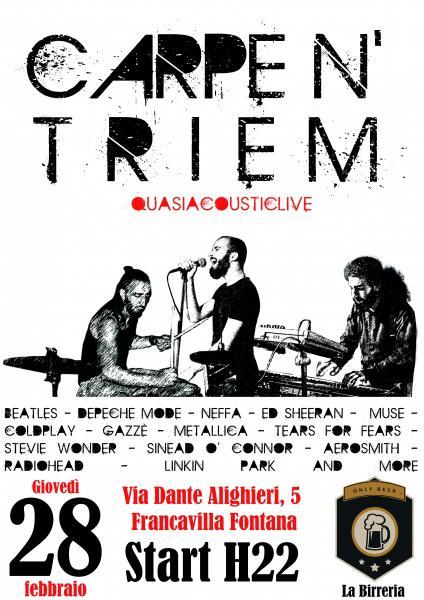Carpe N' Triem Live at La Birreria Only Beer