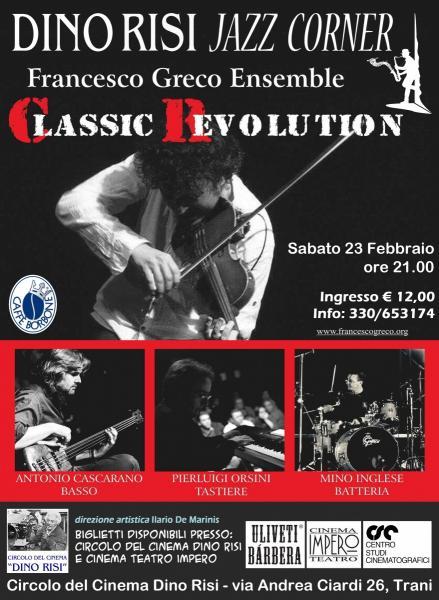 Francesco Greco Ensemble Concert