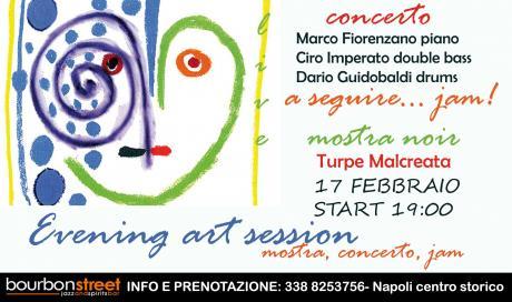 Concerto e mostra temporanea... a seguire jam! Napoli centro- Domenica pomeriggio 17 Febbraio.