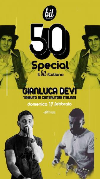 Gianluca Devi - Tributo ai Cantautori Italiani @ Molfetta
