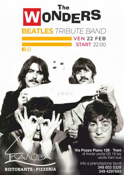 The Wonders - Beatles Tribute Project a Trani