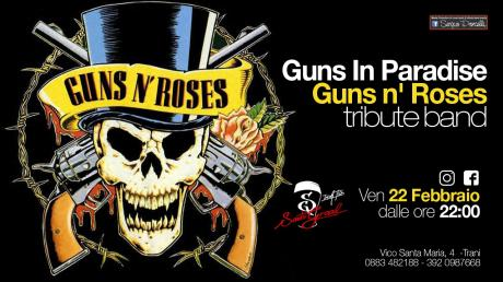 Guns In Paradise - Guns n' Roses tribute band a Trani