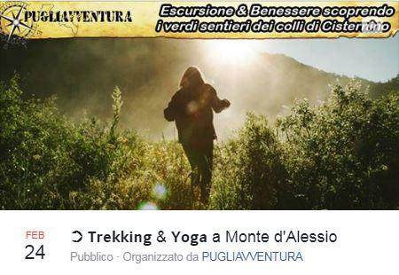 TREKKING & YOGA A MONTE D'ALESSIO