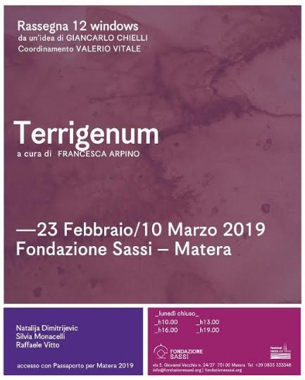 """Inaugurazione mostra """"Terrigenum"""""""