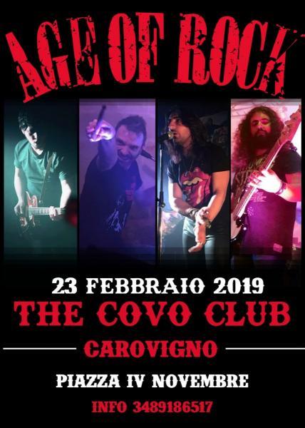 AGE of ROCK LIVE @The Covo Club - Carovigno
