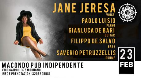 Jane Jeresa Soulfulvoice band live @Macondo