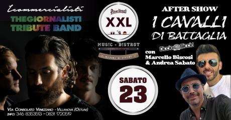 I Commercialisti + I Cavalli di Battaglia at XXL Music Bistrot