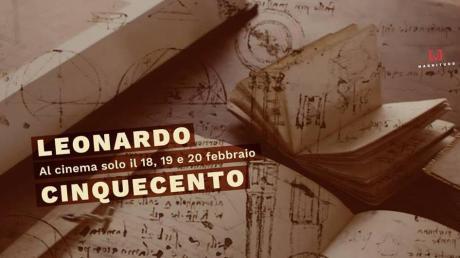"""""""Leonardo Cinquecento"""" al Multicinema di Bari"""