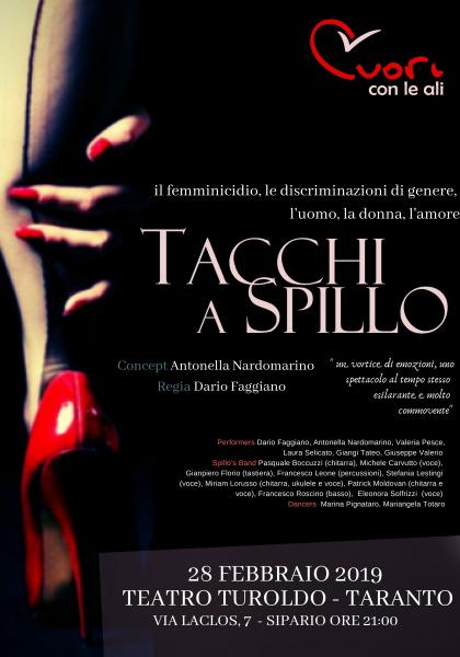 """""""TACCHI A SPILLO"""" 1° Festival Italia De Gennaro"""