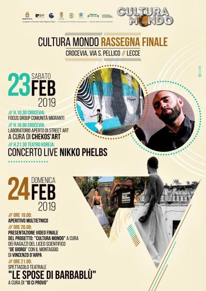 Cultura Mondo tra Hip Hop, Teatro e Street Art