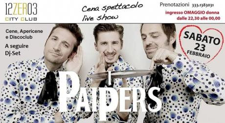 I Paipers  in concerto live al  12.03 City Club