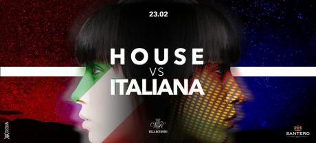 Sab 23 Febbraio 2019 - Villa Rotondo presenta House vs Musica Italiana - Ingresso Lista Bari