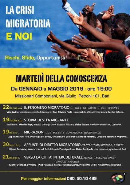 I MARTEDI DELLA CONOSCENZA 2019