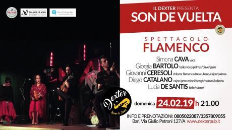 IL DEXTER presenta Spettacolo Flamenco - Son de Vuelta