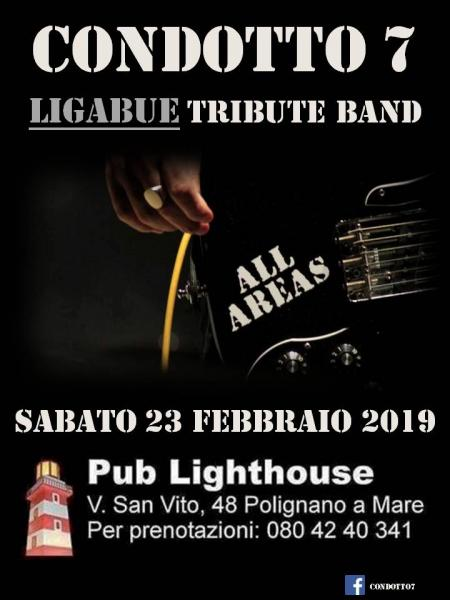 Condotto7 (Ligabue Tribute Band) live at Lighthouse - Polignano