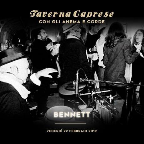 Taverna caprese con gli Anema e Corde | Venerdì Live Music