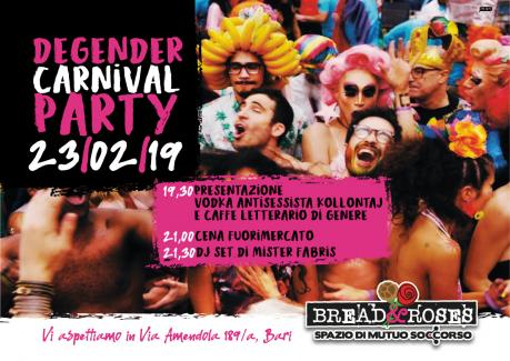 Degender Carnival Party