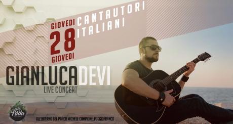 live cantautori italiani