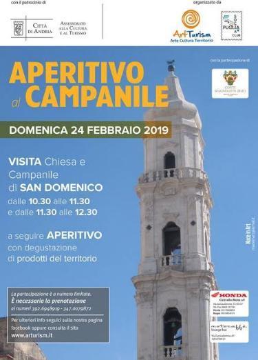 """Torna l'iniziativa """"Aperitivo al campanile"""""""