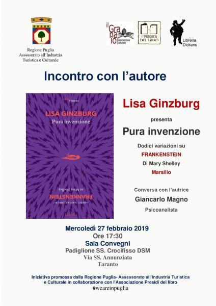 Incontro con Lisa Ginzburg