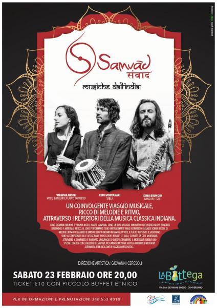 Samvad - Musiche dall'India