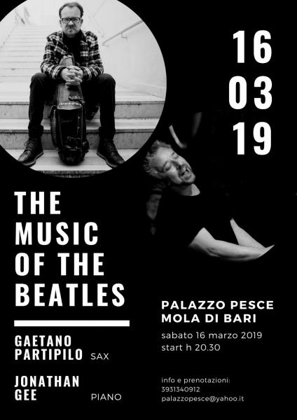 """The music of the Beatles"" [Jazz concert con Gaetano Partipilo e Jonathan Gee]"
