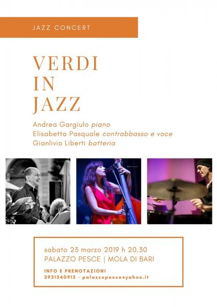 """Verdi in jazz"" [Andrea Gargiulo Jazz Trio]"