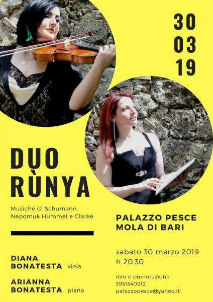 Duo Rùnya [concerto da camera viola e pianoforte]