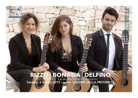 Bonasia, Delfino e Rizzo, Trio Chitarristico