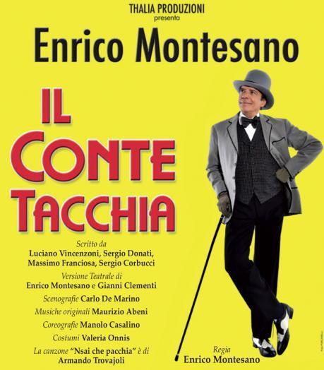 """Enrico Montesano in """"Il Conte Tacchia"""""""