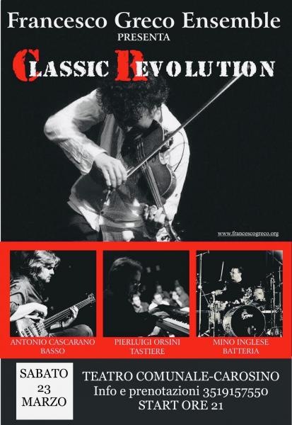 "FrancescoGrecoEnsemble ""Classic Revolution"""