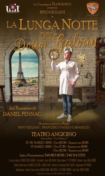 LA LUNGA NOTTE DEL DOTTOR GALVAN - di Daniel Pennac