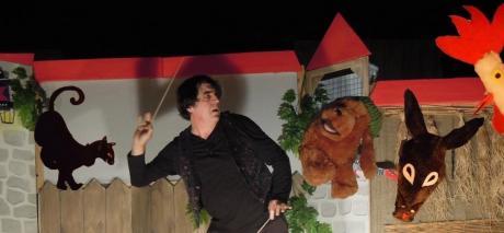 """""""Mangiafoco, pinocchio e..."""" sul palco di Leverano"""