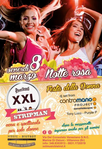 Festa della DONNA at XXL Music Bistrot