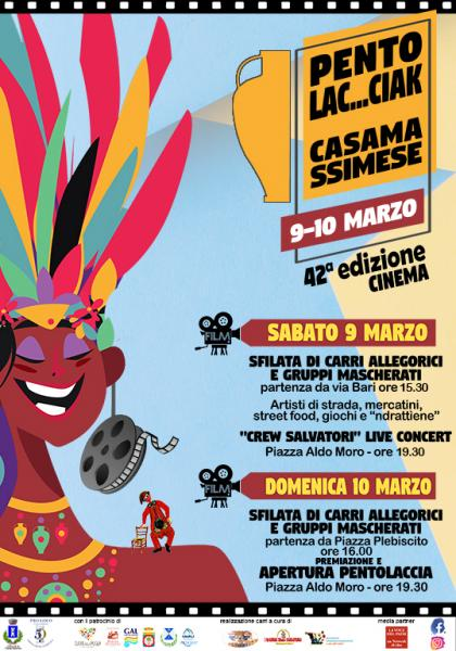 42^ Pentolaccia Casamassimese #ciak #carnevale