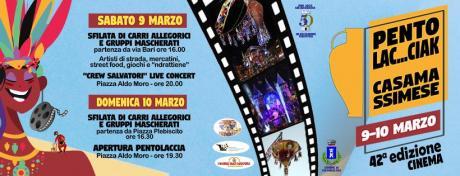 42^ Sfilata di Carnevale con carri allegorici - Pentolaccia Casamassimese