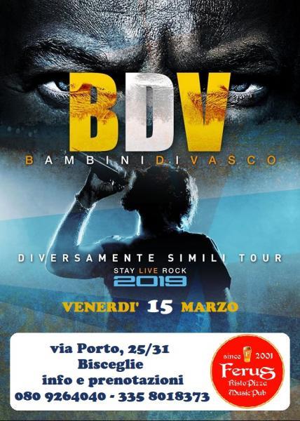 """VASCO  special tribute live @ FERUS con i """" BAMBINI DI VASCO """""""