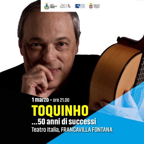 """Toquinho in """"50 anni di successi"""""""