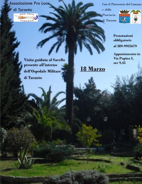 Visita guidata al sacello nell'ospedale militare di Taranto