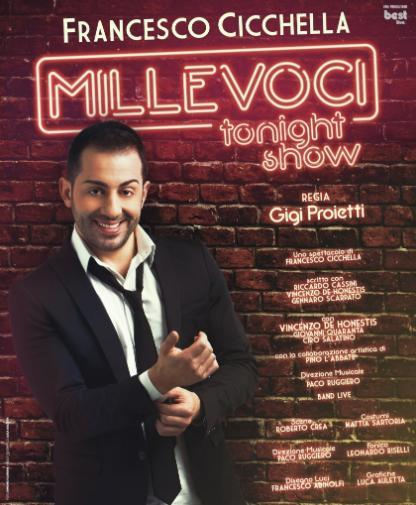 """Millevoci tonight show"" in scena a Lecce"