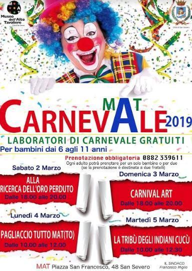 Carnevale al MAT di San Severo